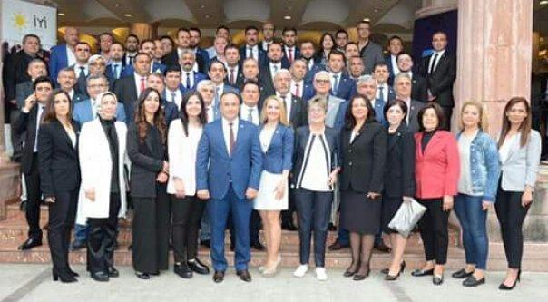İYİ Parti Alanya yönetimi tanıtıldı