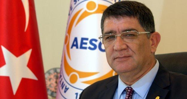 AESOB Başkanı Dere'den esnafa ödeme uyarısı