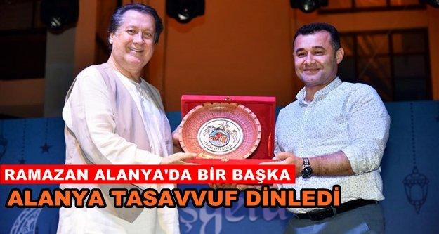 Ahmet Özhan Alanya ile buluştu