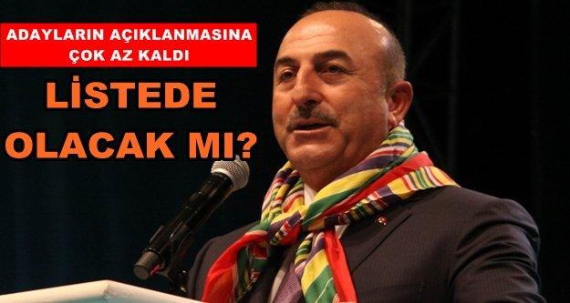 Ak Parti'de Mevlüt Çavuşoğlu bilinmezi