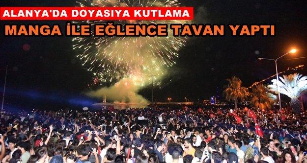 Alanya'da 19 Mayıs'a muhteşem kutlama
