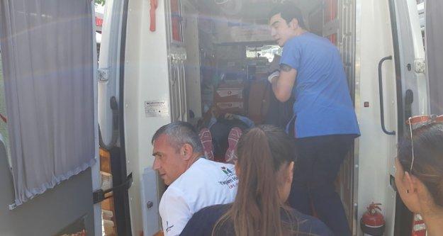 Alanya'da feci kaza: Motosiklet sürücüsü yaralı
