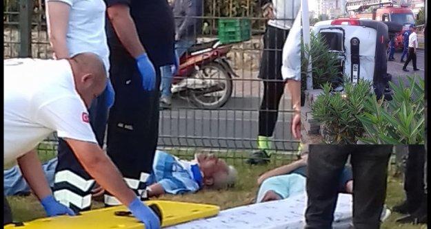 Alanya'da feci kaza, yaralılar var