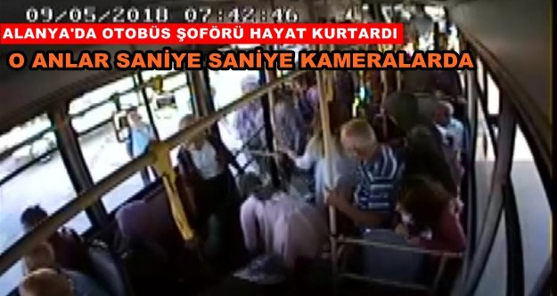 Alanya'da panik! Halk otobüsünde bayılan öğrenci...