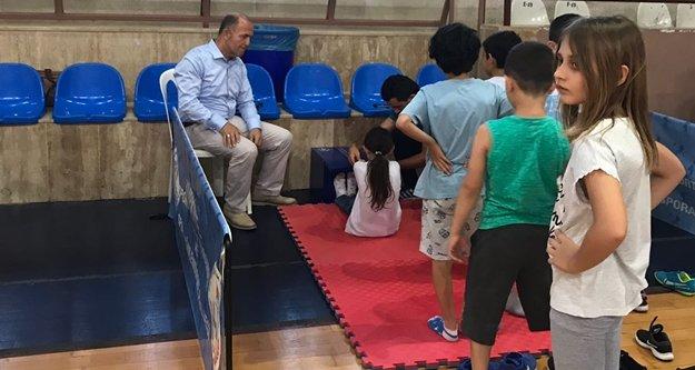 Alanya'da sportif yetenek taraması yapıldı