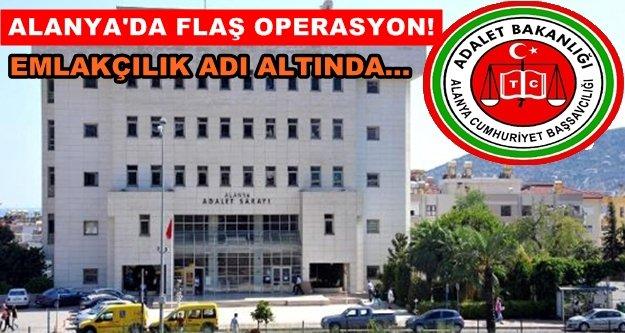 Alanya'da tapu vurgununa 8 gözaltı