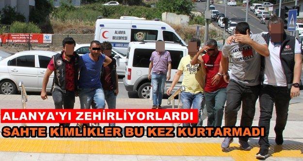 Alanya'daki flaş operasyona 4 tutuklama