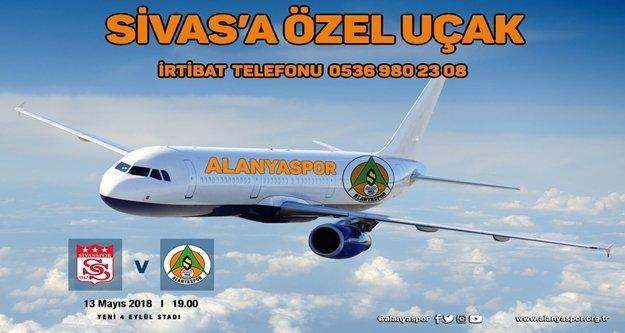 Alanyaspor'dan Sivas deplasmanına uçak