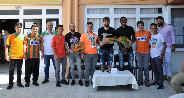 'Alanyaspor'um Okulumda Projesi' sezonu muhteşem kapattı