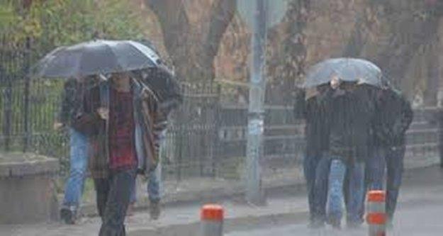 Antalya'nın 5 ilçesi için yağış uyarısı
