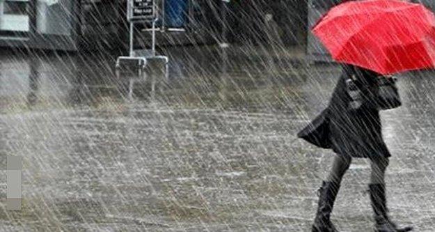 Antalya ve çevresi için şiddetli yağmur uyarısı