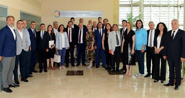 ATSO CHP Milletvekili Adaylarını ağırladı