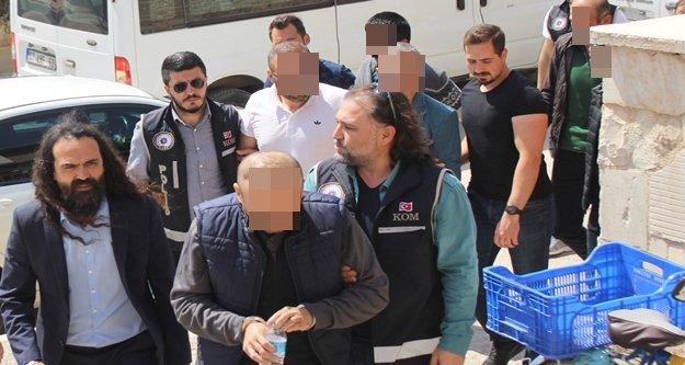 Avukatın liderliğindeki suç örgütüne operasyon: 5 tutuklama