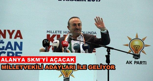 Bakan Çavuşoğlu baba ocağına geliyor