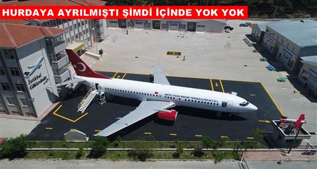 Bakan Çavuşoğlu devreye girdi! Okul bahçesine uçak kondu