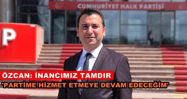 CHP#039;li Özcan#039;dan liste değerlendirmesi
