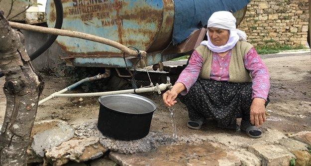 Fatma Nine'nin su çilesi son buldu