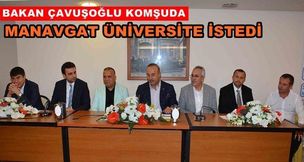 MATSO Bakan Çavuşoğlu'nu ağırladı
