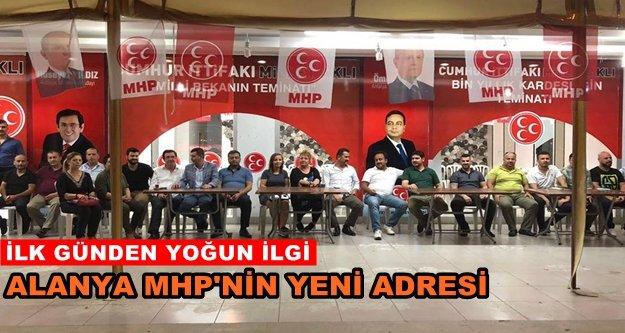 MHP seçim ofisi hizmete başladı