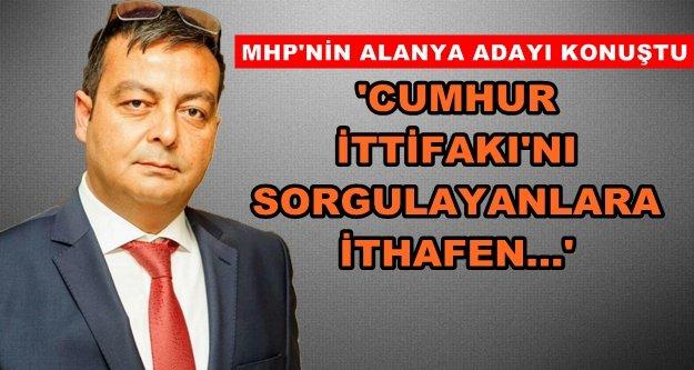 Özbek 'Cumhur İttifakını' anlattı