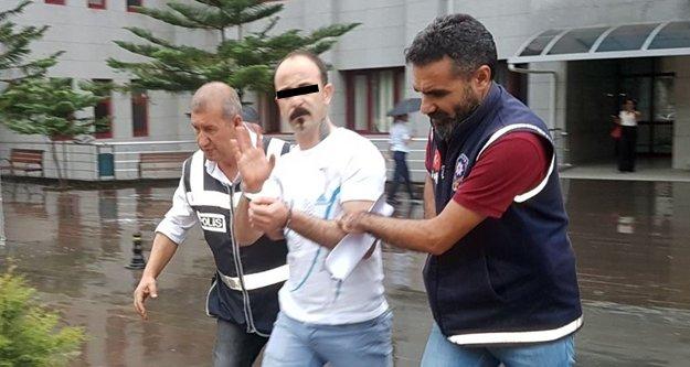 Sokak ortasında eşini dövüp serbest kalan koca tutuklandı