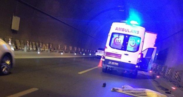 Tünelde kamyon bisikletçileri biçti: 1 ölü, 2 yaralı var