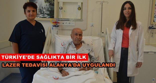 Türkiye'de ilk kez Alanya'da