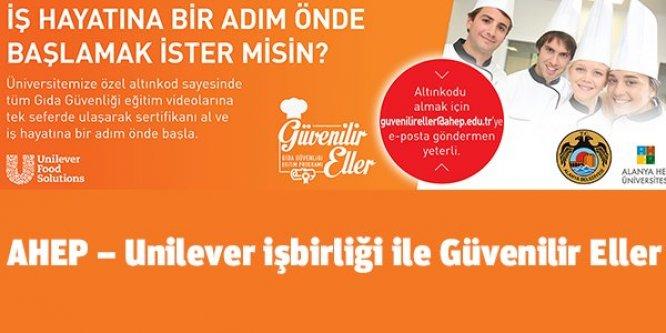 AHEP–Unilever işbirliği ile Güvenilir Eller