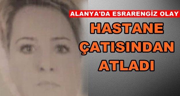 Alanya'da flaş intihar! Kadın hayatına son verdi
