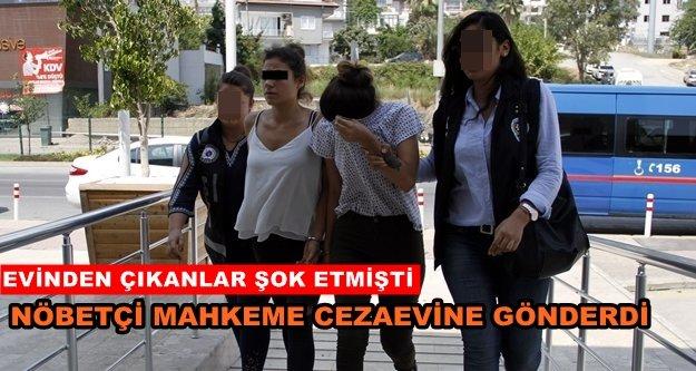 Alanya'daki zehir taciri kadın tutuklandı