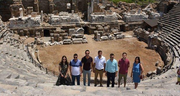 Alanya'dan sonra Manavgat'a gittiler
