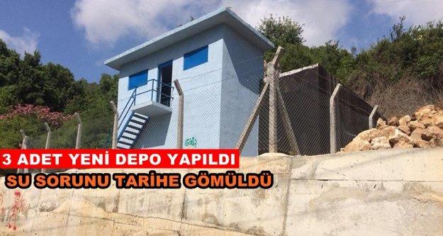 Alanya Hacımehmetli'nin su sorunu çözüldü