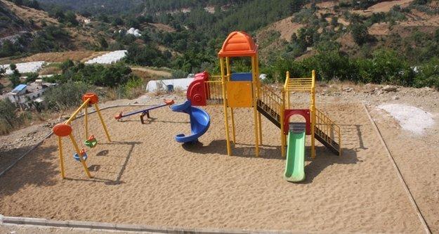 Alanya'ya 2 yeni park