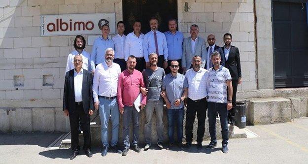 ALBİMO Bursa şubesine önemli ziyaret