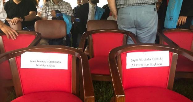 ALKÜ'de koltuk krizi! CHP'liler terketti
