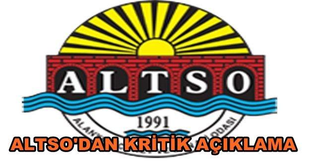 ALTSO'dan af yasası duyurusu!