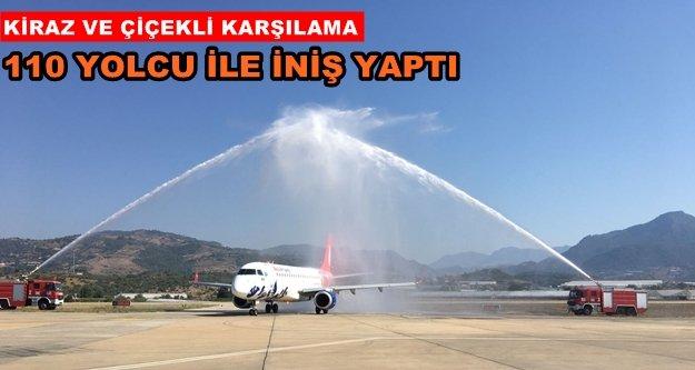 Azerbaycan'dan GZP-Alanya'ya ilk uçuş