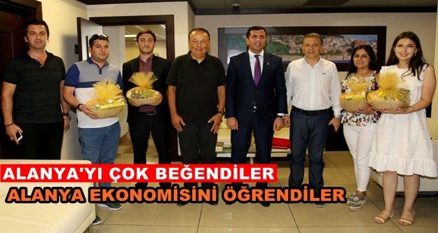 Azeri gazetecilerden ALTSO ziyareti