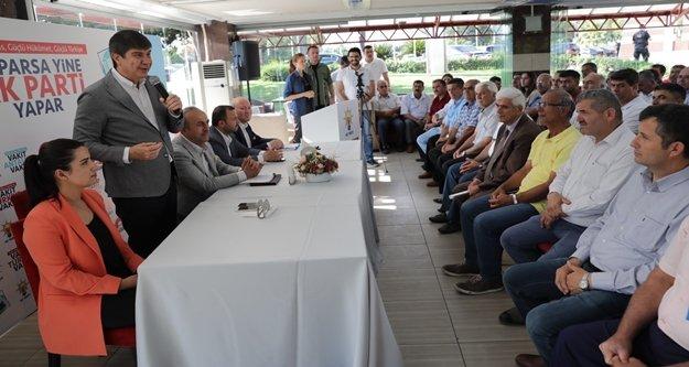 """Başkan Menderes Türel: 'Antalya şaha kalktı"""""""
