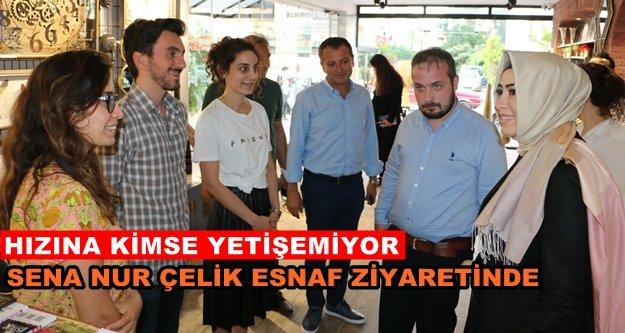 """Çelik: 'İstikrar sürecek, esnafımız ve Türkiye güçlenecek"""""""