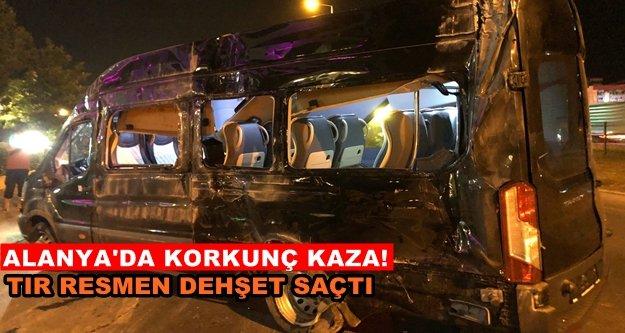 Facia gibi kaza! 1 turist öldü 4 ağır yaralı var
