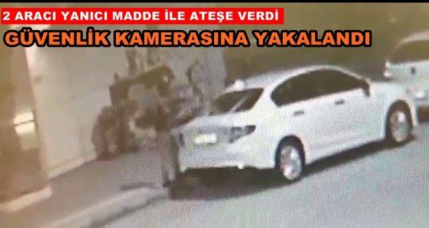 FLAŞ! Alanya'da 2 otomobil kundaklandı