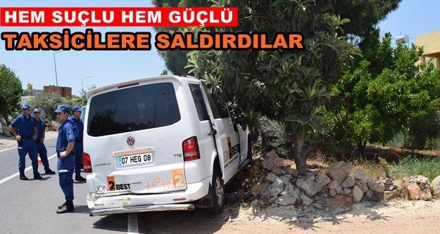 GZP-Alanya'da sürücü dehşeti