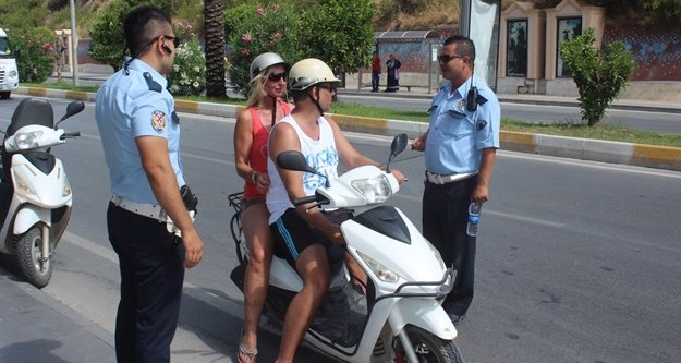 Kask kullanımında turist ve yerli farkı