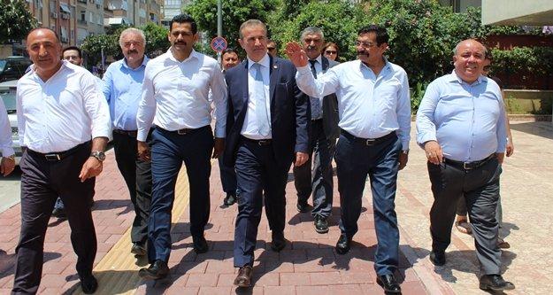 MHP'li Başkan'nın seçim çalışmaları