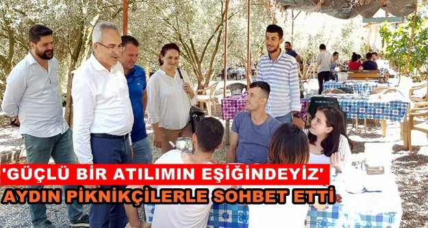 """Milletvekili Aydın: 'İstikrarın güvencesi AK Parti"""""""