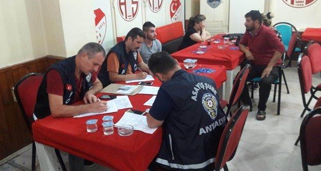 Tombala operasyonu: 356 kişiye ceza kesildi