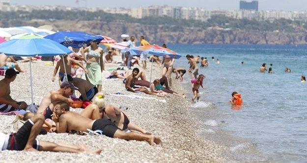 Turizmin başkenti Antalya'ya kavurucu sıcaklar geliyor