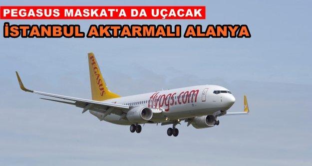 Umman'dan Alanya'ya aktarmalı uçuş başlıyor