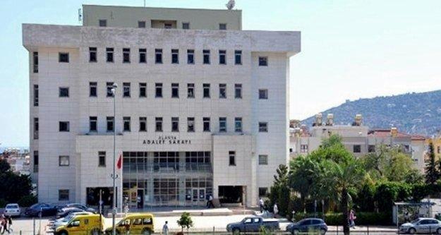 Alanya Adliye'sini üzen ölüm
